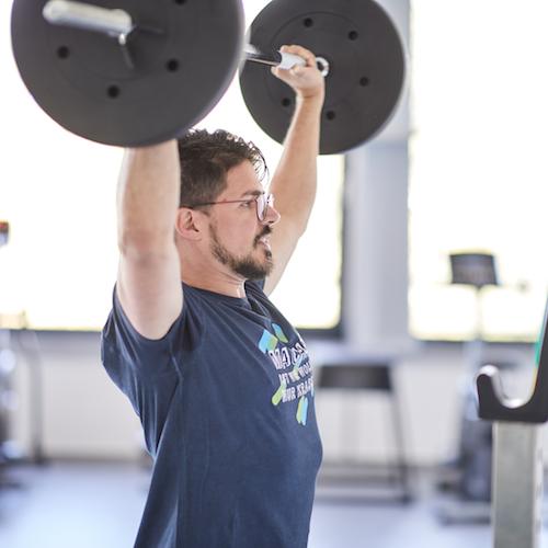 Sport im eigenen Gym